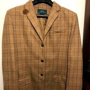 Lauren Ralph Lauren 100% wool vintage blazer
